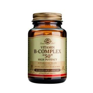 Solgar Formula B-Complex 50 100 Caps