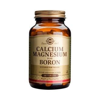 Solgar Calcium Magnesium Plus Boron 100 Tabs