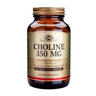 Solgar Choline 350mg 100 Veg. Caps