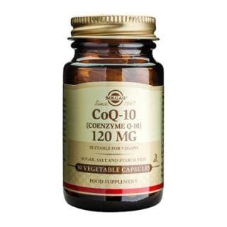 Solgar Coenzyme Q-10 120mg 30 Veg. Caps