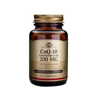 Solgar Coenzyme Q-10 200mg 30 Veg. Caps