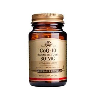 Solgar Coenzyme Q-10 30mg 90 Veg. Caps