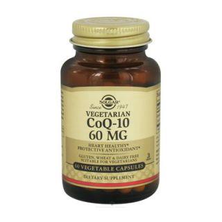 Solgar Coenzyme Q-10 60mg 60 Veg. Caps