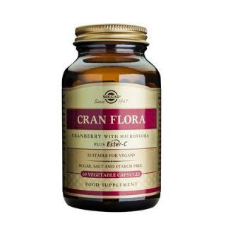 Solgar Cranflora with Probiotics 60 Veg. Caps