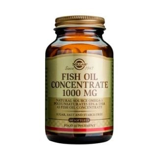Solgar Fish Oil Concentrate 1000mg 60 Softgels