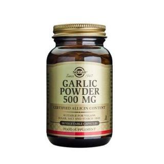 Solgar Garlic Powder 500mg 90 Veg. Caps