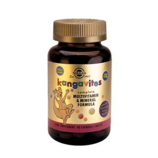 Solgar Kangavites Multivitamin & Mineral Formula Berry 60 Chewable Tabs
