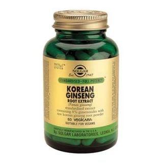 Solgar Korean Ginseng Root Extract 60 Veg. Caps