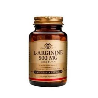 Solgar L-Arginine 500mg 50 Veg. Caps