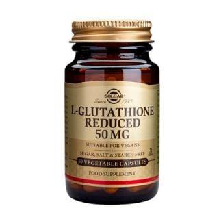 Solgar L-Glutathione 50mg 30 Caps