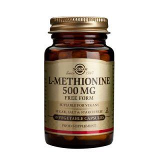 Solgar L-Methionine 500mg 30 Caps