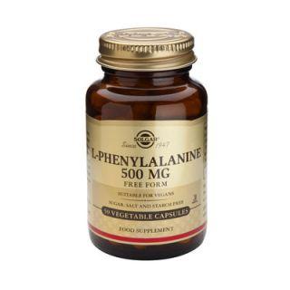 Solgar L-Phenylalaline 500mg 50 Veg. Caps