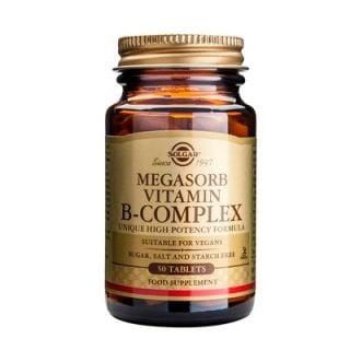 Solgar Megasorb Vitamin B-Complex 50 Tabs