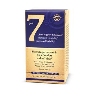 Solgar No. 7 30 Veg. Caps Καλή Λειτουργία των Αρθρώσεων