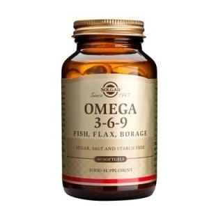 Solgar Omega 3-6-9 120 Softgels