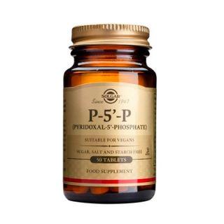 Solgar P-5-P (Pyridoxal-5-Phosphate) 50mg 50 Tabs