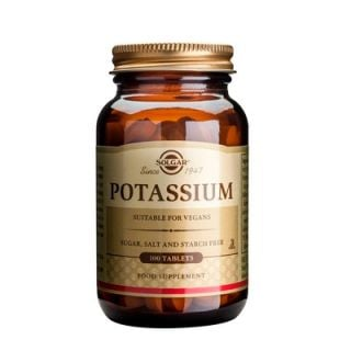 Solgar Potassium Gluconate 99mg 100 Tabs