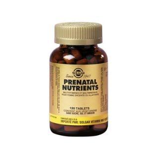 Solgar Prenatal Nutrients 120 Tabs