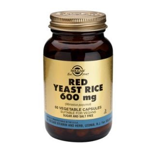 Solgar Red Yeast Rice Extract 600mg 60 Veg. Caps