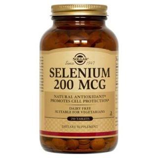 Solgar Selenium 200μg 250 Tabs Σελήνιο