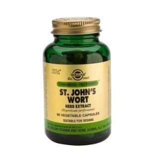 Solgar St. John's Wort Herb Extract 175mg 60 Veg. Caps