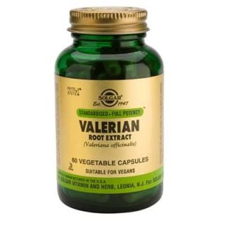 Solgar Valerian Root Extract 60 Caps