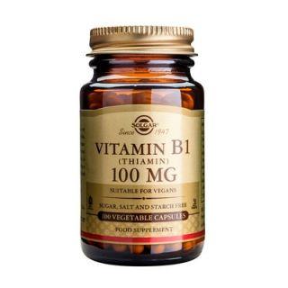 Solgar Vitamin B-1 100mg 100 veg. Caps