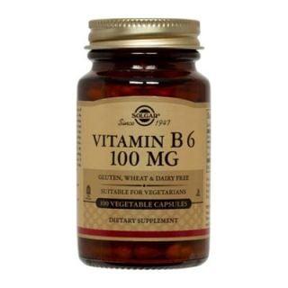 Solgar Vitamin B-6 100mg 100 Veg. Caps