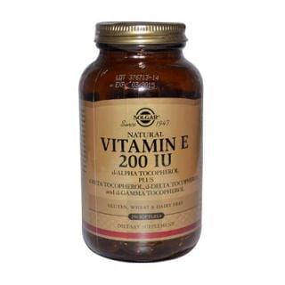 Solgar Vitamin E 200IU 134mg 250 Softgels