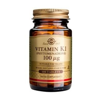 Solgar Vitamin K1 100μg 100 Tabs
