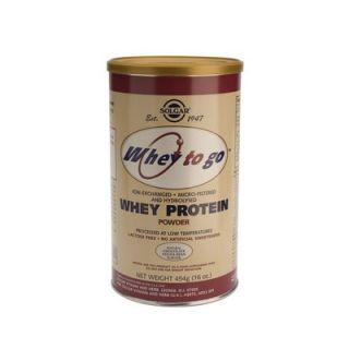 Solgar Whey to Go Protein Powder Chocolate 454gr