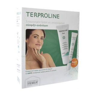 Synchroline Terproline Face Cream50ml Firming Cream + FREE Terproline Contour Eyes & Lips Cream 15ml + EGF Cream 5ml