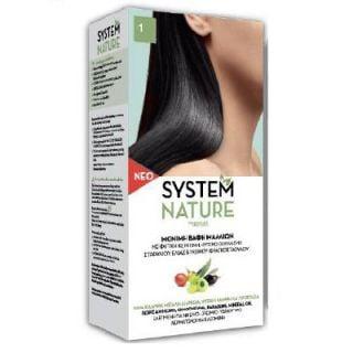 SantAngelica System Nature Hair Dye New Composition - 1 Ebony Black