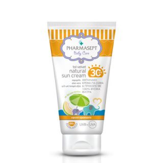 Pharmasept Baby Care Tol Velvet Natural Sun Cream SPF30 100ml Baby - Kids Sunscreen