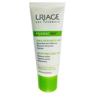 Uriage Hyseac Mat Emulsion 40ml Ματ Αποτέλεσμα για Λιπαρές Επιδερμίδες