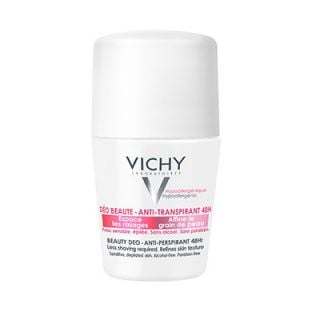 Vichy Ideal Finish Beauty Deodorant 48hr 50ml Reduces Interval Between Shaves