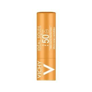 Vichy Ideal Soleil Stick SPF50+ 9gr Αντιηλιακό για τις Ζώνες σε Έντονη Έκθεση