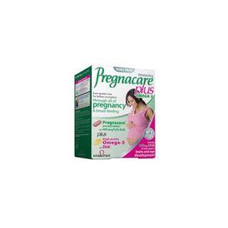 Vitabiotics Pregnacare Plus 28 Tabs + 28 Caps Pregnancy - Breast-feeding