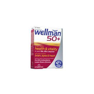 Vitabiotics WellMan 50+ 30 Tabs Multivitamin for Men