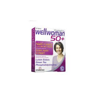 Vitabiotics Wellwoman 50+ 30 Tabs Πολυβιταμίνη για Γυναίκες