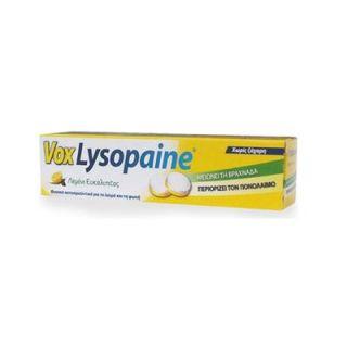 Vox Lysopaine 18 Sore Throat Lozenges