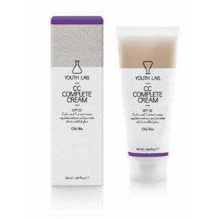 Youth Lab CC Complete Cream SPF30 50ml Καλυπτική Κρέμα Αναδόμησης με Χρώμα - Λιπαρό Δέρμα