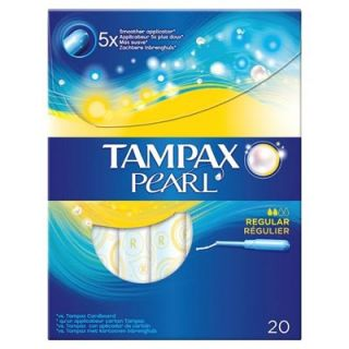 Tampax Pearl Regular 20 Items Tampon Anti-leak Protection