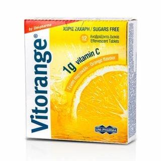 Uni-Pharma Vitorange Vitamin C 1g