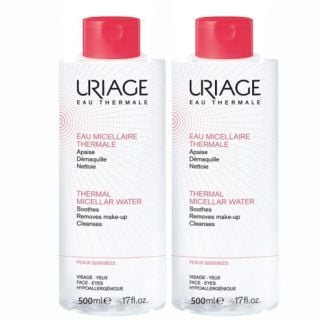 Uriage Thermal Micellar Water 2 x 500ml Sensitive Skin