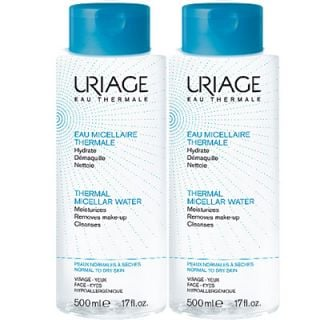 Uriage Thermal Micellar Water 2 x 500ml Normal - Dry Skin