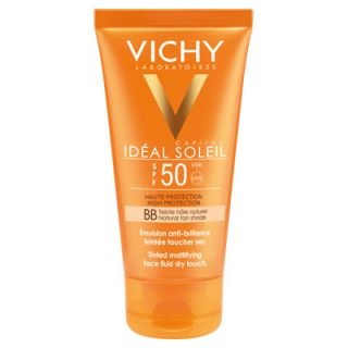 Vichy Ideal Soleil BB Tinted Dry Touch Face Fluid SPF50 50ml