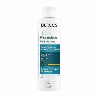 Vichy Dercos Ultra Soothing Shampoo Dry Hair 200ml