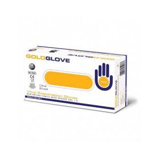 GoldGlove Vinyl Powdered Small Εξεταστικά Γάντια Βινυλίου Ελαφρά Πουδραρισμένα 100 Τεμάχια