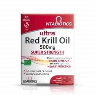Vitabiotics Ultra Krill Oil 30 Tabs